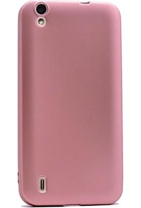 CepArea Vestel Venüs 5000 Kılıf Ince Renkli Yumuşak Silikon Kapak Case Rose Gold