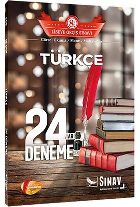 Sınav Yayınları 8. Sınıf LGS Türkçe 24 Deneme