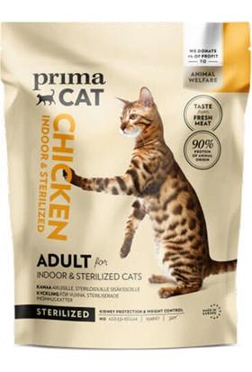 Primacat Indoor Sterilised Tavuk Etli Kısırlaştırılmış Kedi Maması 1.4 kg