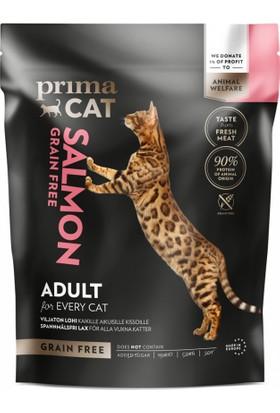 Primacat Somonlu Tahılsız Yetişkin Kedi Maması 1.4 kg