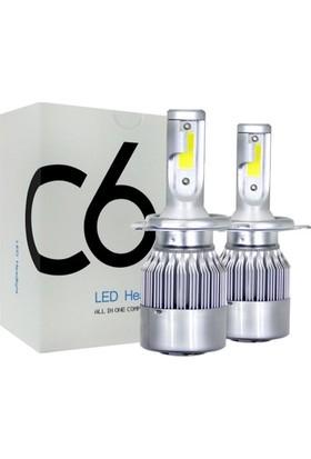 BTM Otomotiv Şimşek Etkili LED Xenon 36W/7600 Lümen H1