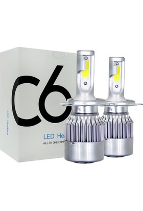 Şimşek Etkili LED Xenon 48W/8000 Lümen H4