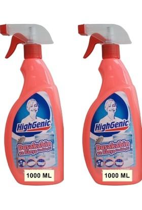 Highgenic Duşakabin Temizleyici 2 x 1000 ml