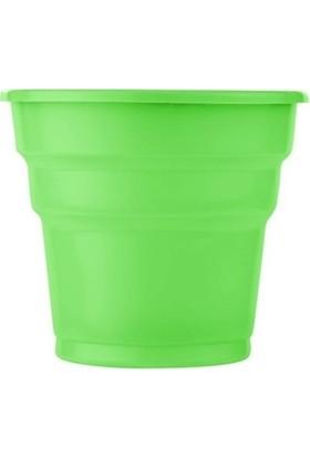 Acar Süs 25'li Yeşil Plastik Bardak