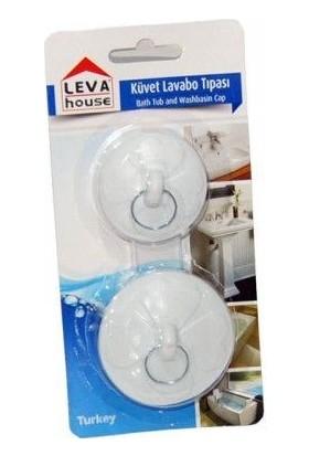 Cmk Lavabo Banyo Küvet Tıpası 2'li Plastik Tıkama Aparatı
