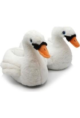 Twigy TT0854 Swany Beyaz Kışlık Çocuk Panduf
