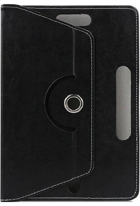 "Teknoliman Samsung Galaxy Tab S6 Lite P615 10.4"" Dönerli Standlı Deri Kılıf Siyah"