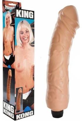 Seven Creations King Kong Giant Vibratör 30 cm ve Playboy Masaj Yağı