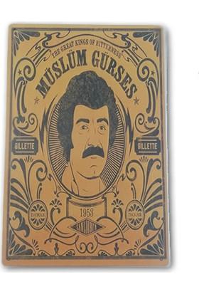 Doremi Tasarım Müslüm Gürses Duvar Tablosu