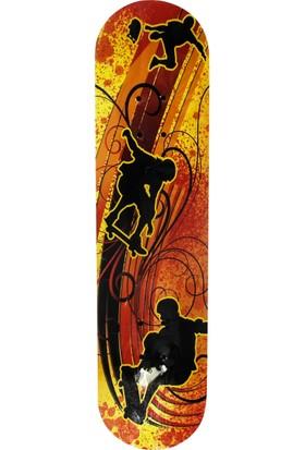Asya Desenli Kaykay 78 cm