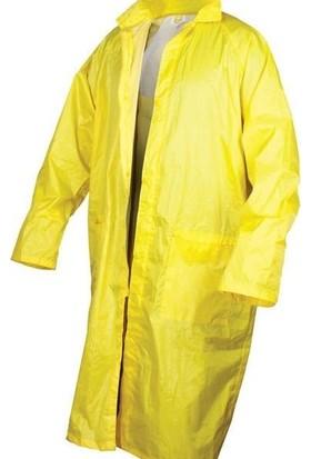 Imperteks Yağmurluk Pardesü Sarı