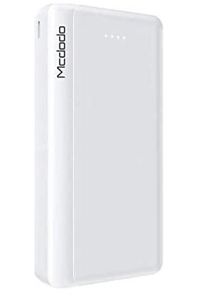 Mcdodo Blade 20000MAH Çift USB Taşınabilir Powerbank Beyaz MC-6850
