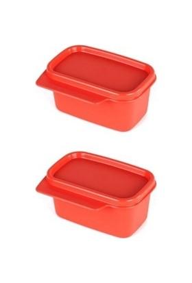 Tupperware 2'li Mini Dikdörtgen 160 ml