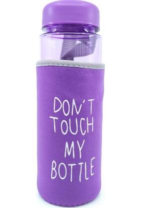 Şeker Ofisi My Bottle Kılıflı Polikarbon Su Matarası Mor Renk