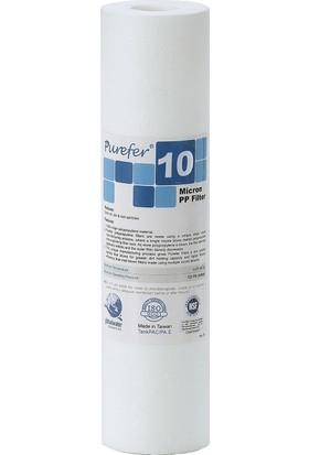 Global Water Solutions Su Arıtma Cihazı Filtresi / Kum ve Tortu Filtresi / 10 mikron