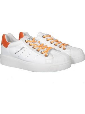 Guja 20K328-1 Beyaz Kadın Sneakers