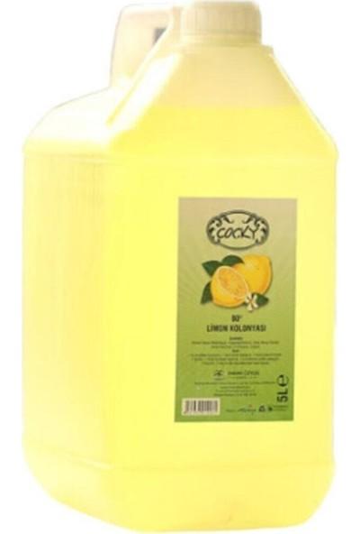 Cocky Limon Çiçeği Kolonyası 5000 ml Bidon Ambalaj 80 Derece