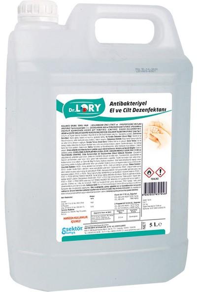Dr. Lory Alkol Bazlı 5 Litre Antibakteriyel El ve Cilt Dezenfektanı