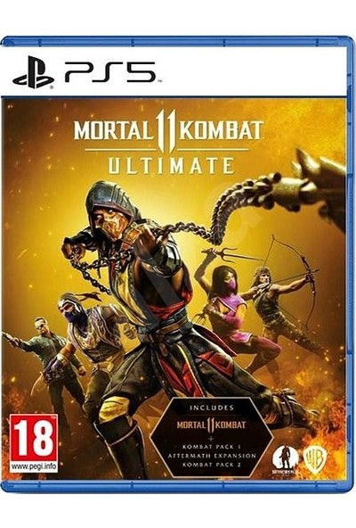 Ps5 Mortal Kombat 11 Ultimate Edition Oyun