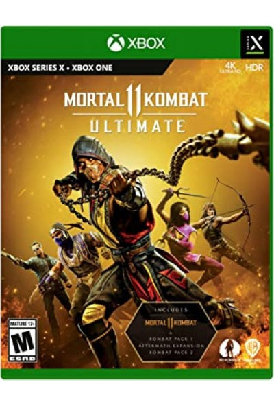 Xbox Series x Mortal Kombat 11 Ultimate Edition Oyun