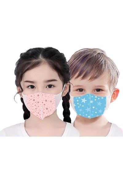 Corelife Kız Çocuk Maskesi 3 Katlı Meltblown Filtreli 20 Adet