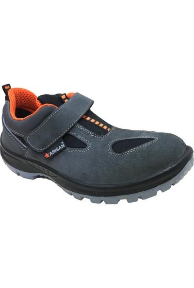 Arısan 1021 Süet Iş Ayakkabı Gri S1 43