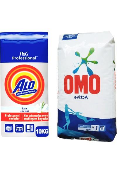 Alo Kar Çiçegi 10 kg + Omo Active Fresh 10KG