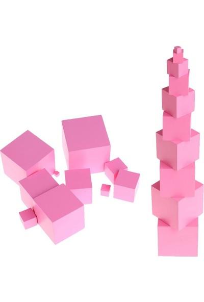 Woo Concepts Duygusal Etkinlik Için Pembe Kule 10 Parça