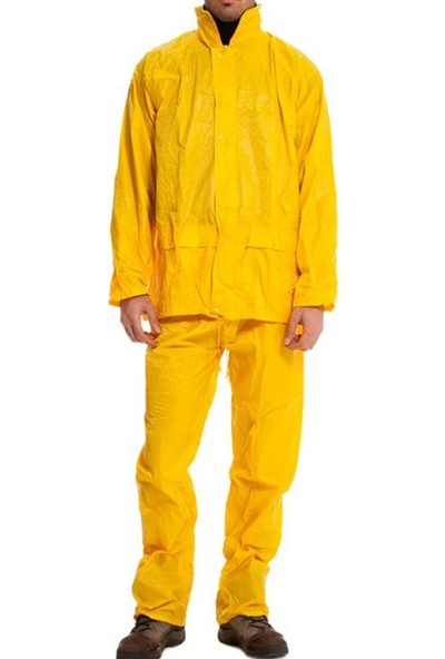 Impertex Yağmurluk Takım Alt Üst Takım Yağmurluk Sarı