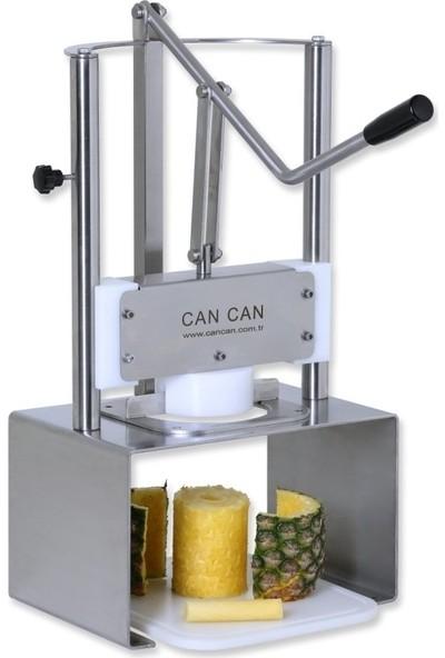 Cancan Ananas Soyma Makinesi Dilimleme Doğrama Parçalama Kesici