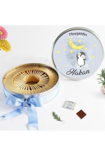 Hayal Sepetim Erkek Bebek Çikolatası (72 Madlen)