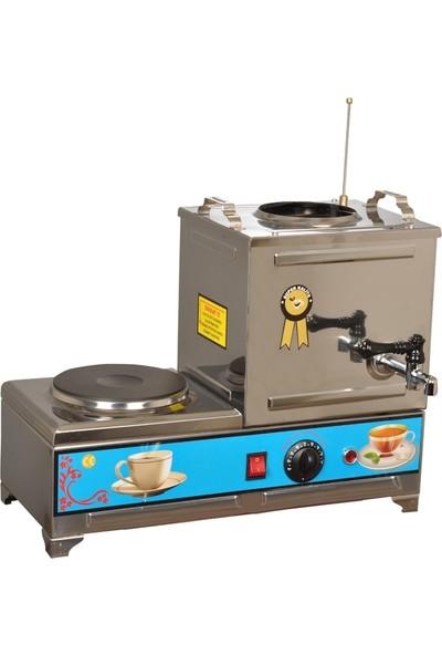 Sever Çelik 10 Lt. Elektrikli Çay Kazanı