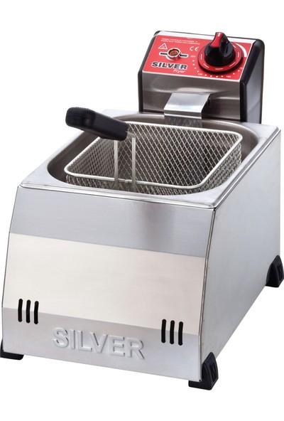 Silver-Işıkgaz 5 Lt Sanayi Tipi Fritöz