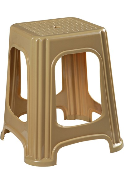 Romanoset Plastik Romanoset Star Plastik Tabure 4 Lü Set