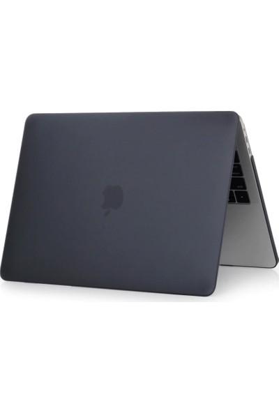 Kızılkaya Apple Macbook Air 2020 Model A2179 13 Inç Touch Id Sert Kapak Koruma Kılıf Hardcase Mat