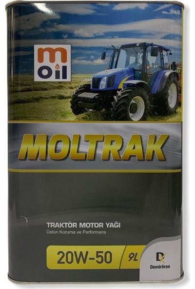 Moil Moltrak Traktör Motor Yağı 20 W - 50 9 lt