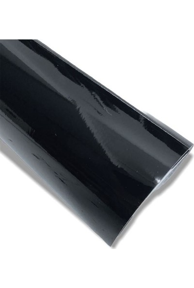 Mobilya Kaplama Folyosu Parlak Siyah 61 cm x 5 M