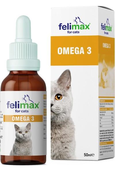 Dr. Natures Felimax Kediler Için Omega 3 Desteği 50 ml