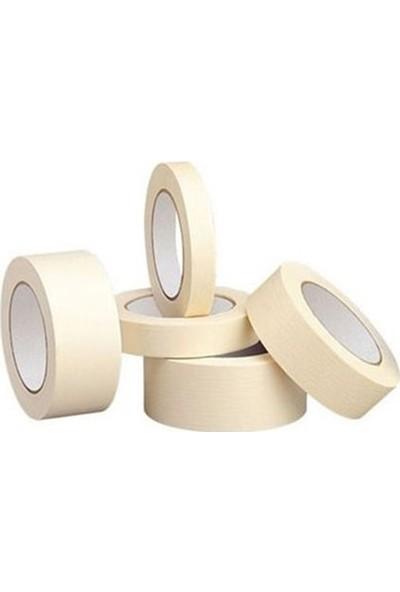 ARY 6 Adet Ary Maskeleme Bandı Boya Bandı Kağıt Bant 48mm x 25m