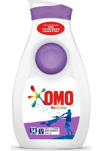 Omo Sıvı Renkliler 910 ml 14 Yıkama