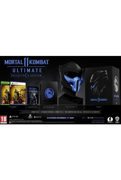 Mortal Kombat 11 Ultimate Xbox One Collectors Edition