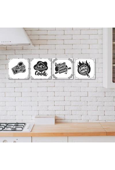 Meşgalem Ahşap Dekoratif Yazılı Cooking Time Mutfak Süsü