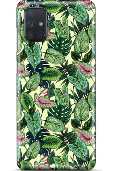 Lopard Botanix 30 Samsung Galaxy M51 Kılıf Silikon Kapak