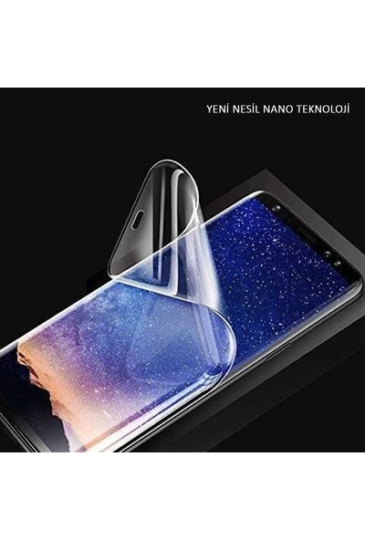 Herbütçeye Xiaomi Redmi 9A Tam Kaplayan Fiber Nano Ekran Koruyucu - Siyah