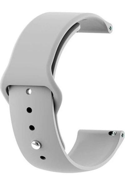 UKS Case Huawei Watch Gt 2 Pro Mat Gri Silikon Kordon + Nano Cam