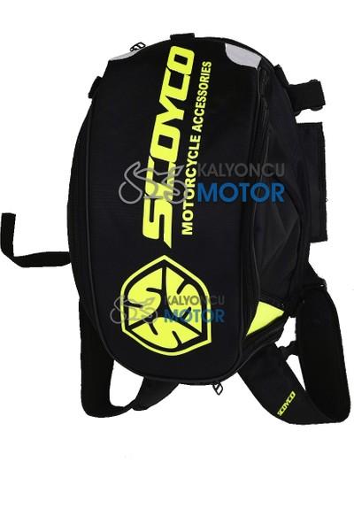 Scoyco Motosiklet Sırt Çantası Neon