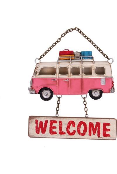 MNK Dekoratif Minibüs Metal Kapı Yazısı