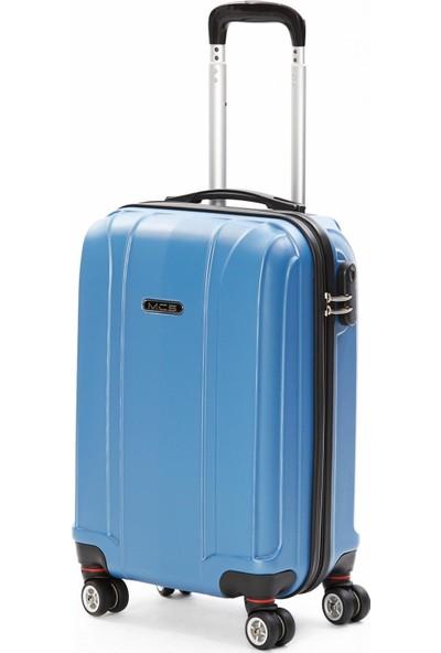 Mçs Kabin Boy Valiz Sky Blue - V214