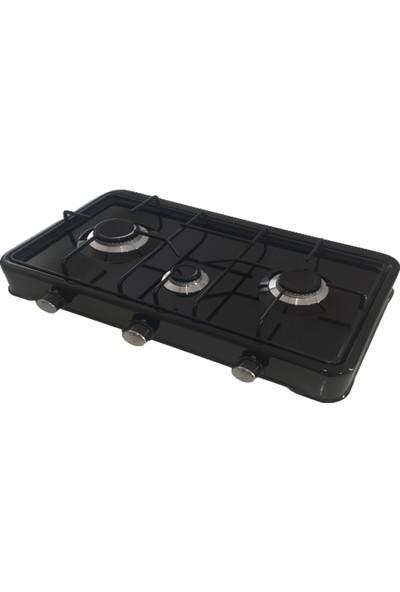Erato 1003SDG Üç Gözlü Set Üstü Ocak