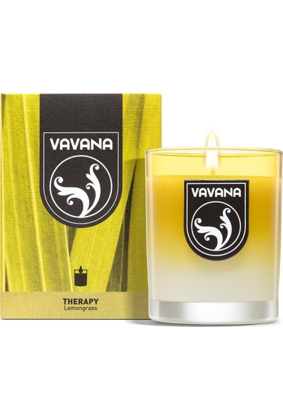 Vavana Kokulu Mum - Oda Ofis Kokusu - Oda Parfümü - 180 gr - Lemongrass